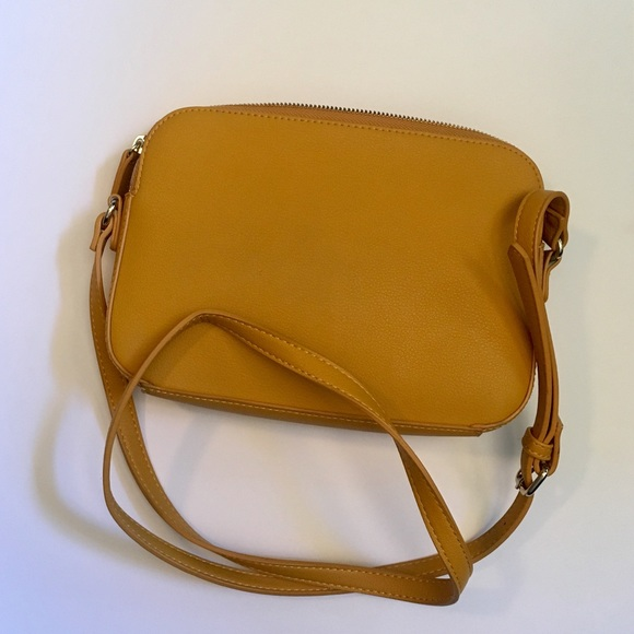 954148648ae Old Navy Bags | Faux Leather Mustard Yellow Crossbody | Poshmark